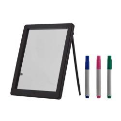 Tablita LED rescriptibila, 3 markere flourescente, 22.5x18x2.5 cm