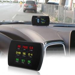 Display auto, TFT LCD 4.2 inch, afisaj viteza si kilometraj, interfata OBD-II