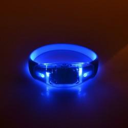 Kit bratari LED multicolore cu telecomanda, 3 moduri iluminare