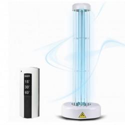 Lampa UVC bactericida 55W cu suport, suprafata 55 mp, telecomanda, timer, alb