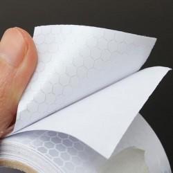 Banda reflectorizanta 3M argintie, latime 4.8 cm, rezistenta la apa