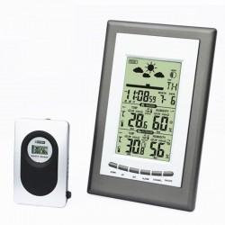 Statie meteo cu emitator extern, ecran LCD, functie alarma, raza actiune 30 m