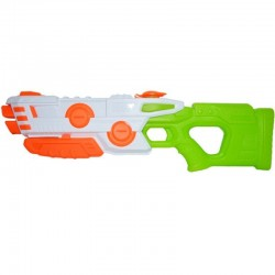 Pistol apa cu presiune aer, teava dubla, 57x18 cm, ABS multicolor