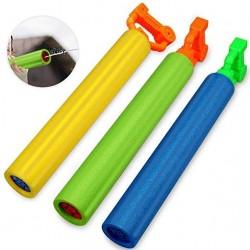 Pistol cu apa pentru copii, rezervor 100 ml, jet 6 m, 4.5x43 cm, din burete
