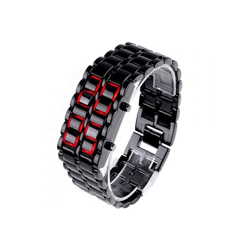 Ceas LED lava Iron Samurai pentru barbati