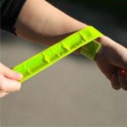 Banda reflectorizanta pentru siguranta,  pliabila, fixare brat/picior, 30x3 cm