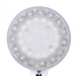 Para de dus cu LED RGB, termosensibil, diametru filet 1.8 cm, 22.5x7 cm