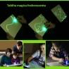 Tablita magica fosforescenta rescriptibila cu breloc UV