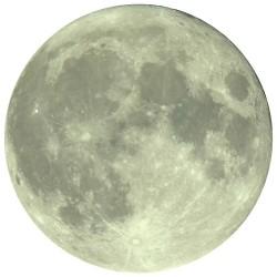 Sticker fosforescent Luna luminoasa