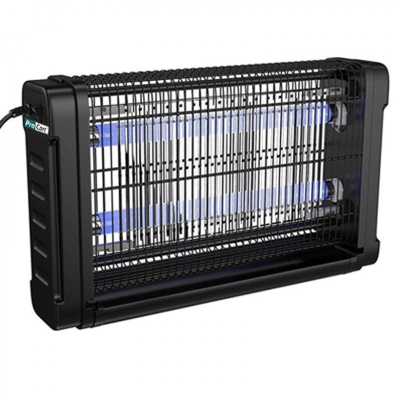 Aparat UV-A anti-insecte, 2x20W, alimentare retea, tavita de colectare
