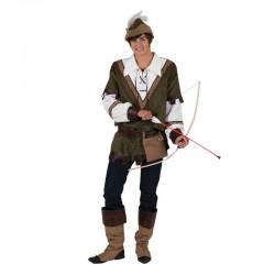 Costum Robin Hood adulti, material poliester, petrecere, barbati