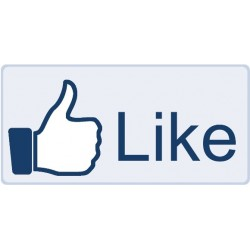 Tricou fosforescent Facebook Like