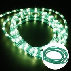 Furtun luminos cu LED, diametru 12 mm, lumineaza galben, interior/exterior