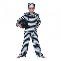 Costum detinut baieti, camasa, pantaloni, palarie, 4-14 ani