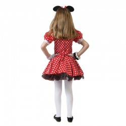 Costum Minnie Mouse fetite, rochita, cordeluta, petrecere