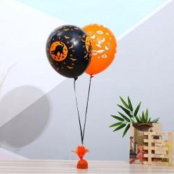 Greutate pentru baloane cu heliu, metal, invelita in folie