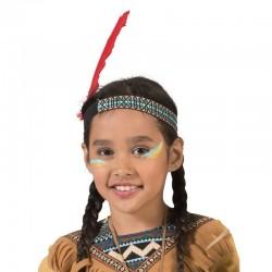 Bentita cu pana de indian, marime universala, pana 20 cm