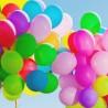 Set 100 baloane mari colorate, latex, petrecere, aer si heliu