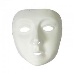 Masca alba pentru copii, unisex, marime universala, carnaval