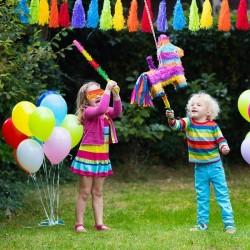 Piniata in forma de magar, pentru petreceri, multicolor