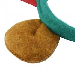 Cordeluta cu coarne de ren, urechi, 34x31 cm, copii