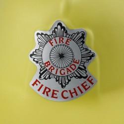 Casca pompier Fire Chief, material spuma, marime universala copii, galben