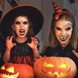 Dinti de vampir, Halloween, marime universala copii, transparent