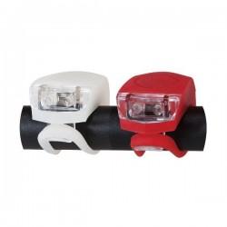 Lumini de siguranta flexibile pentru bicicleta