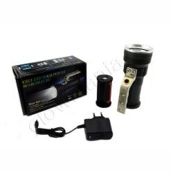 Lanterna metalica cu maner - 800 Lumeni