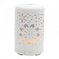 Lampa aromaterapie cu ultrasunete, rezervor 100ml, USB, 2 moduri iluminare