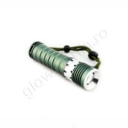 Lanterna militara cu LED si zoom rotativ