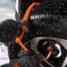 Benzi antiderapante pentru anvelope, 10 bucati, unica folosinta