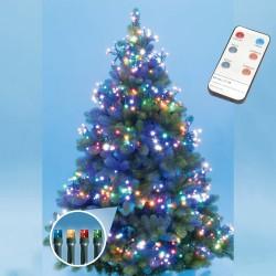Ghirlanda luminoasa 768 LED-uri, telecomanda, interior/exterior, multicolora
