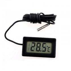 Termometru electronic cu sonda, ecran LCD, lungime fir 100 cm, picioruse