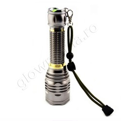 Lanterna profesionala super bright cu led CREE si acumulator