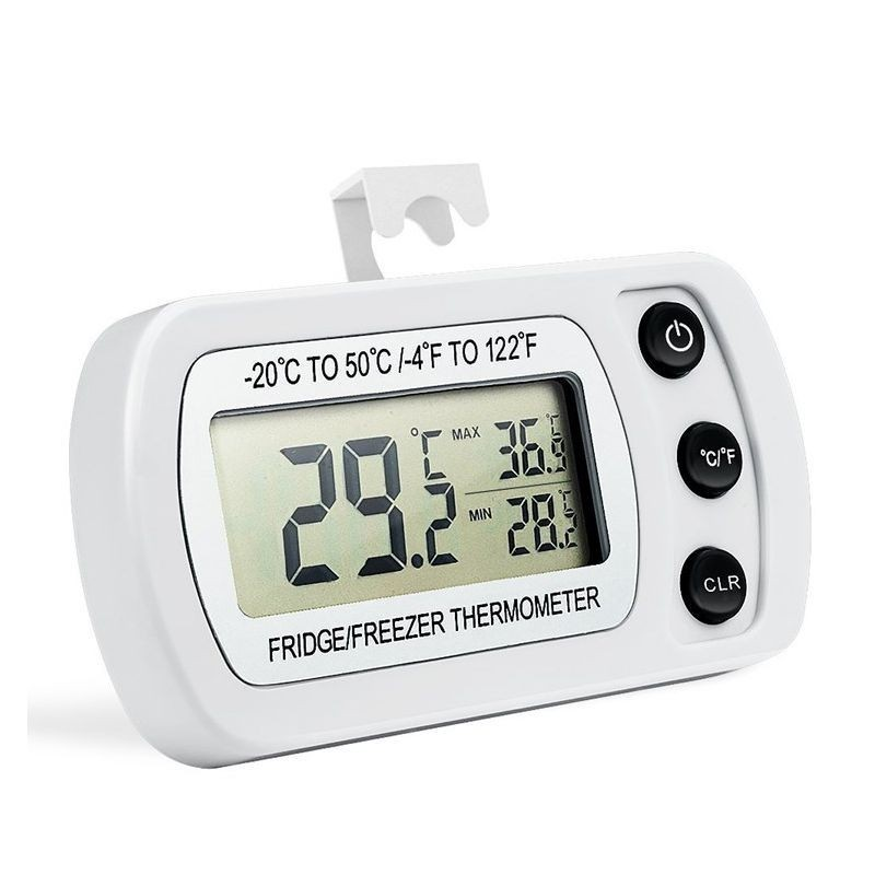 Termometru digital refrigerare, ecran LCD 1.96 inch, impermeabil