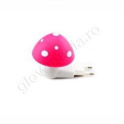 Lampa de veghe cu senzor - forma ciuperca