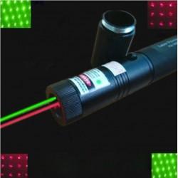 Laser bicolor profesional 100mW cu acumulator