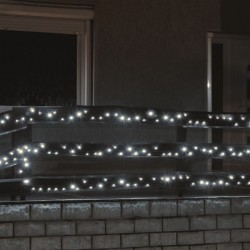 Ghirlanda 1000 LED-uri exterior, lungime 70m, lumina alb rece, Craciun