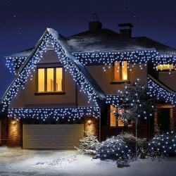 Instalatie tip plasa, 400 LED-uri, lumina alb rece, 8 moduri, 1x6m