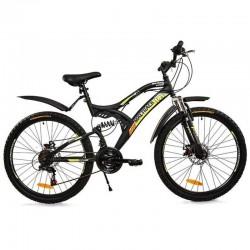 Bicicleta Mountain Bike MalTrack, 18 viteze, roti 26inch, cadru aluminiu, cric
