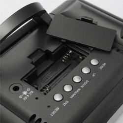 Ceas cu afisaj color LCD 3.7 inch, proiector ora, higrometru, termometru, Resigilat