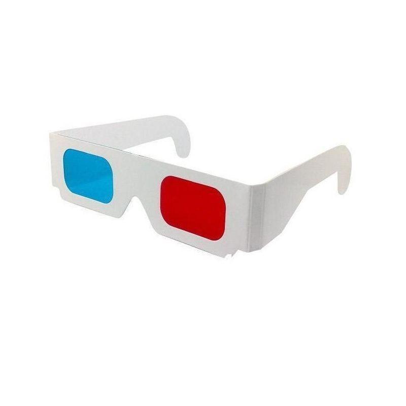 Ochelari 3D red cyan cu rama de carton