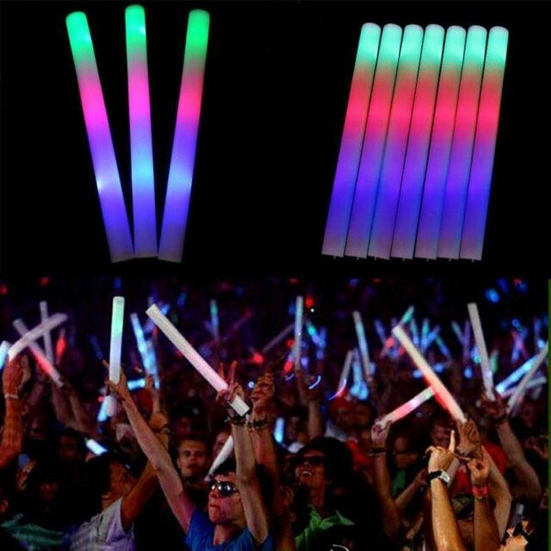 Bagheta Foam stick cu LED pentru petreceri, 47 cm