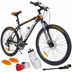 Bicicleta MalTrack Team, 18 viteze, 26 inch, pinioane Shimano, bidon apa