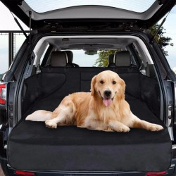 Protectie bancheta auto, transport animale companie, impermeabila, cleme