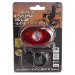 Stop bicicleta cu LED-uri, 2 moduri iluminare, clema fixare spate