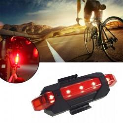 Stop bicicleta 5 LED-uri,...