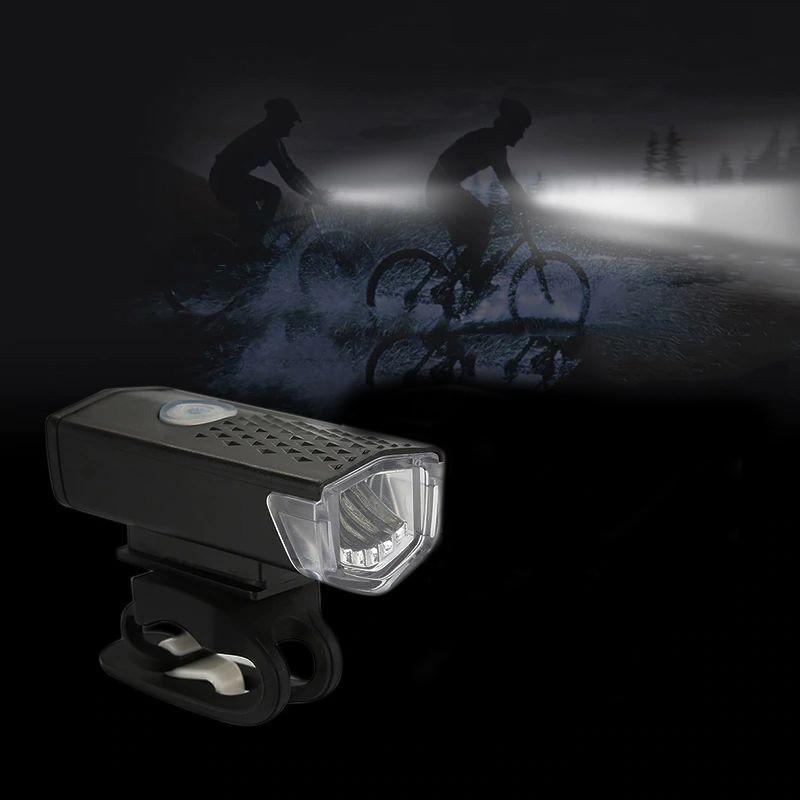 Lanterna bicicleta LED XPE, 250 lm, acumulator reincarcabil USB, 3 moduri iluminare