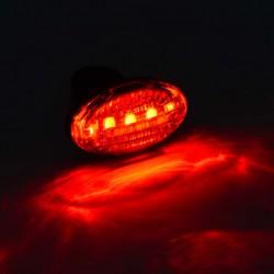 Stop spate bicicleta, 5 LED-uri, impermeabil, 7 moduri iluminare, rosu